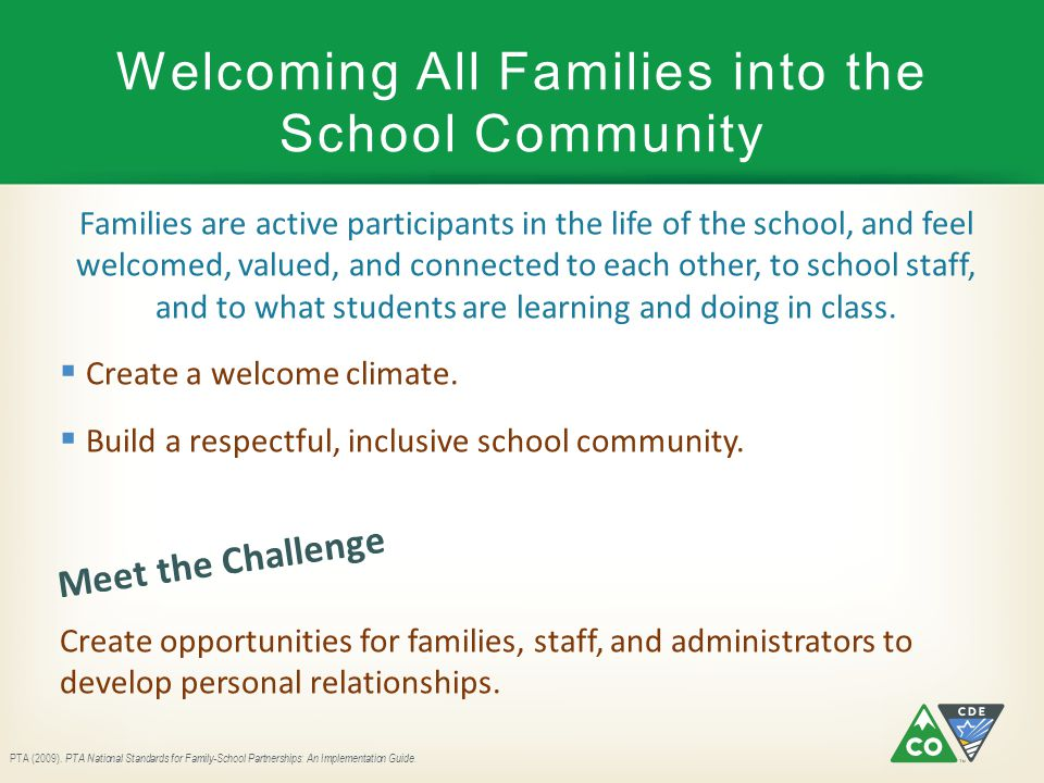 Welcoming All Families into the School Community