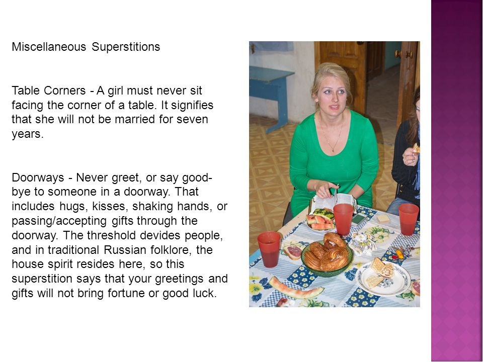 Russian superstition ppt download 12 miscellaneous superstitions m4hsunfo