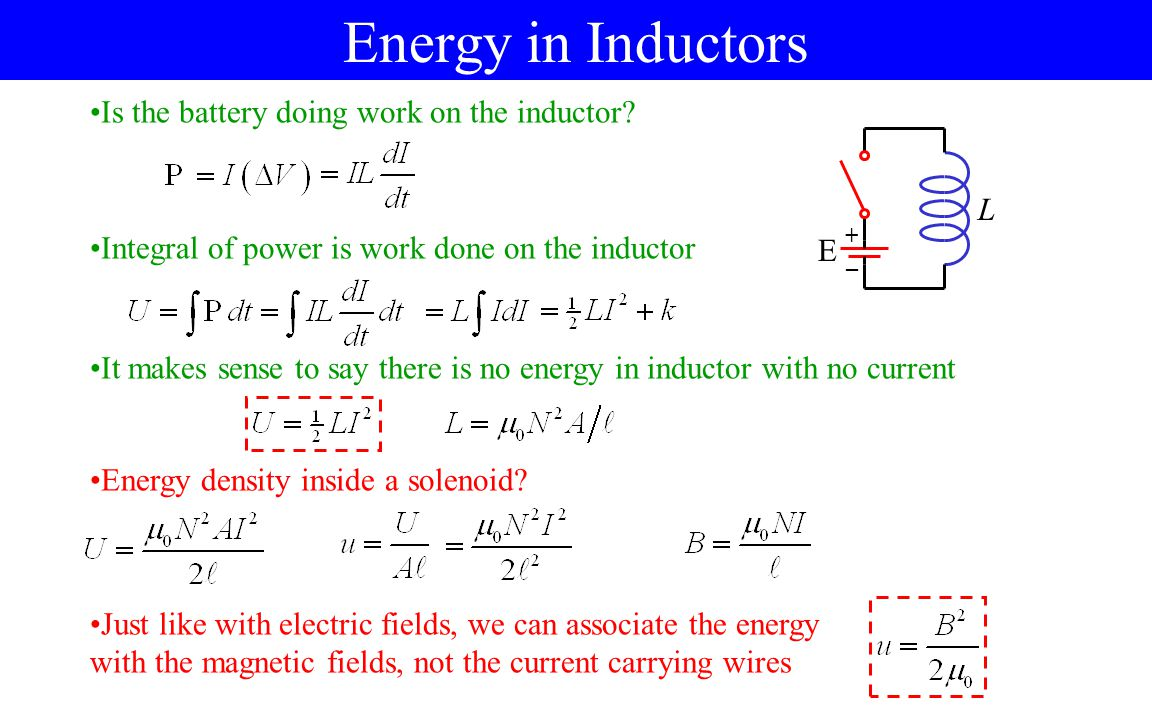 Inductance Self-Inductance A - ppt video online download
