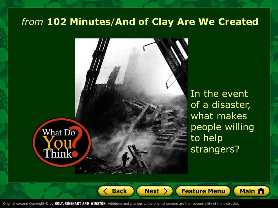 and of clay we are created essay And of clay are we created essays: over 180,000 and of clay are we created essays, and of clay are we created term papers, and of clay are we created research paper, book reports 184 990 essays, term and research papers available for unlimited access.