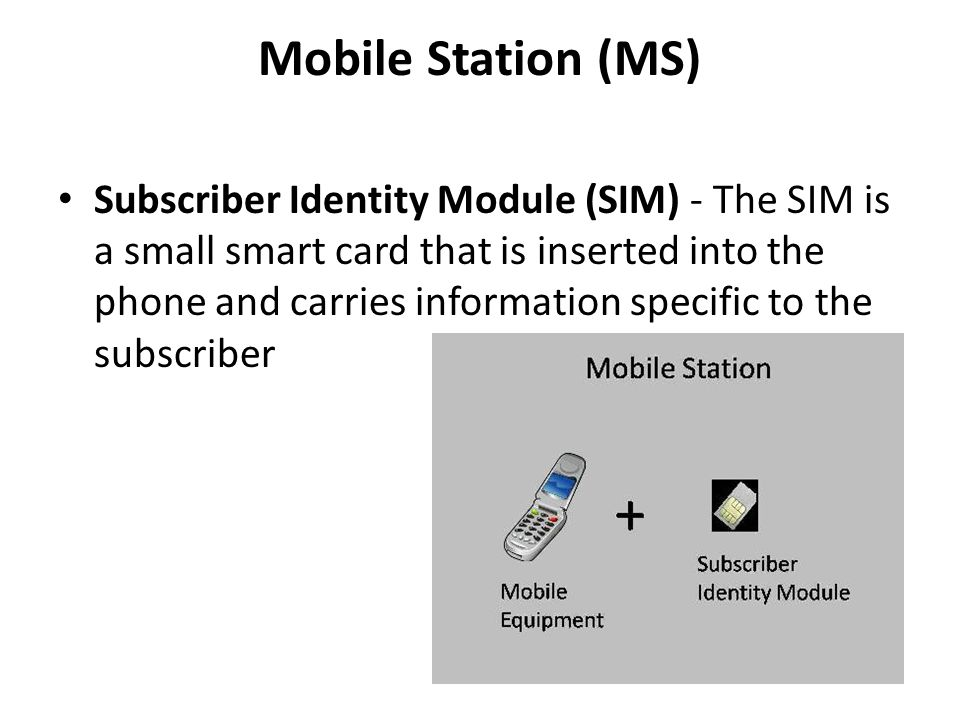 Mobile Station (MS)