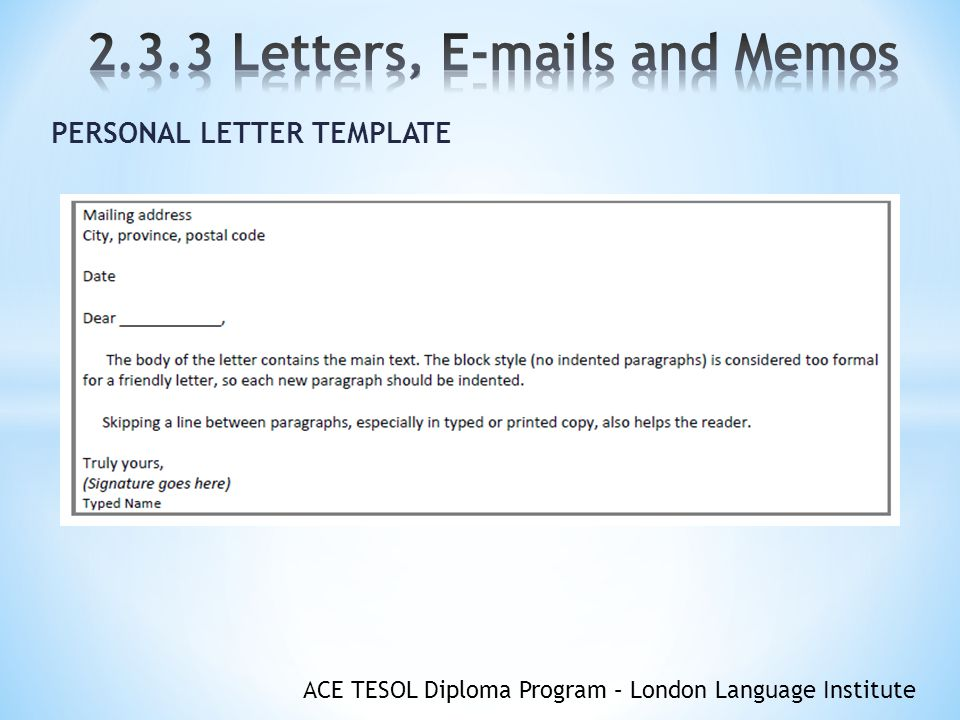Do You Indent Paragraphs In A Letter from slideplayer.com