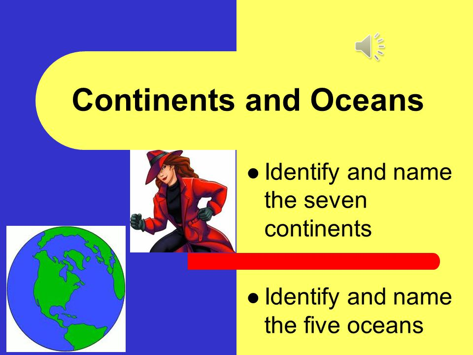 name the oceans