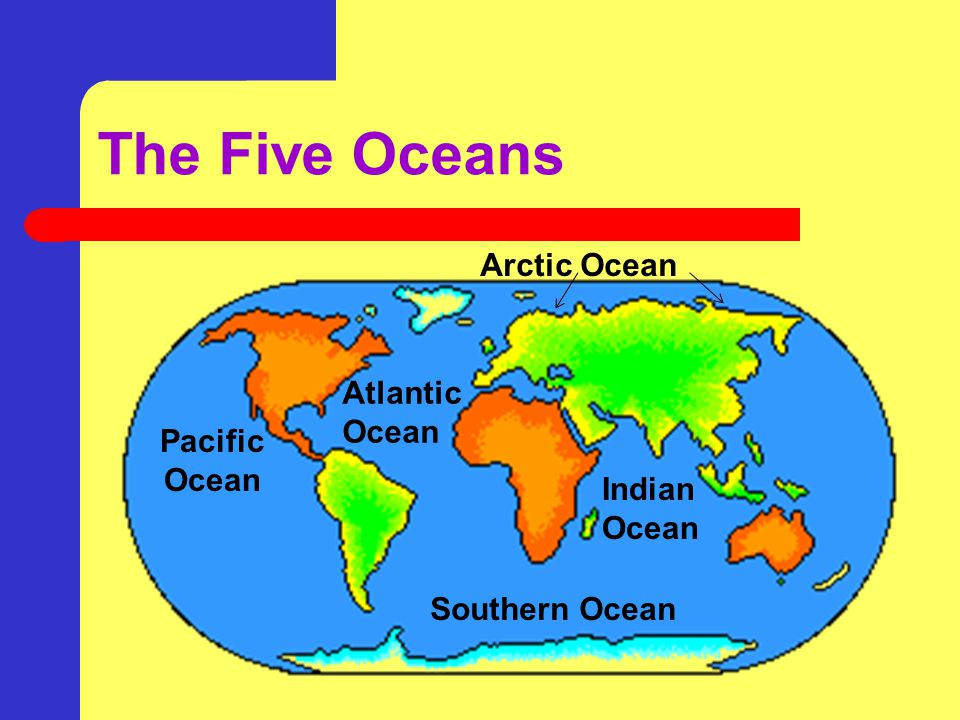 Continents and Oceans Identify and name the seven ...