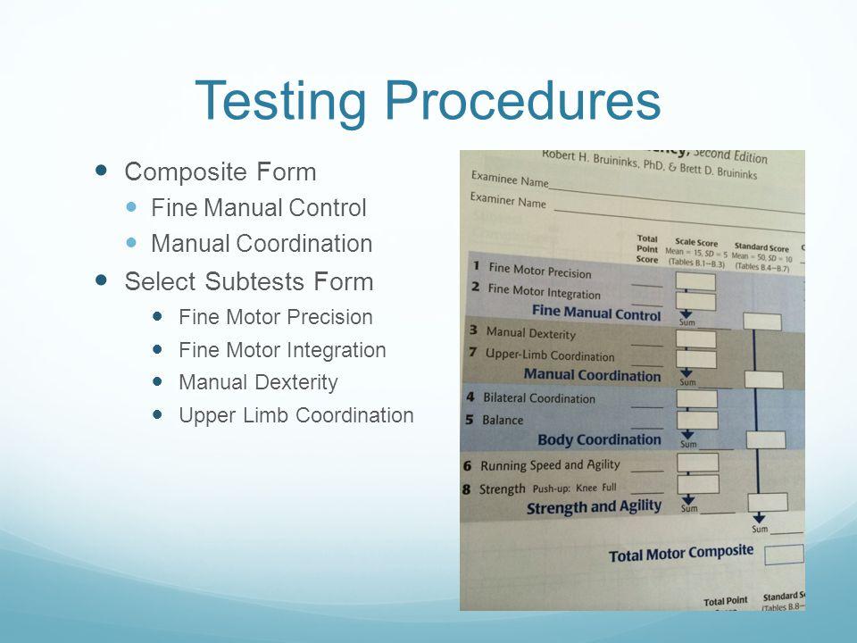 Bot 2 Fine Motor Assessment Ppt Video Online Download
