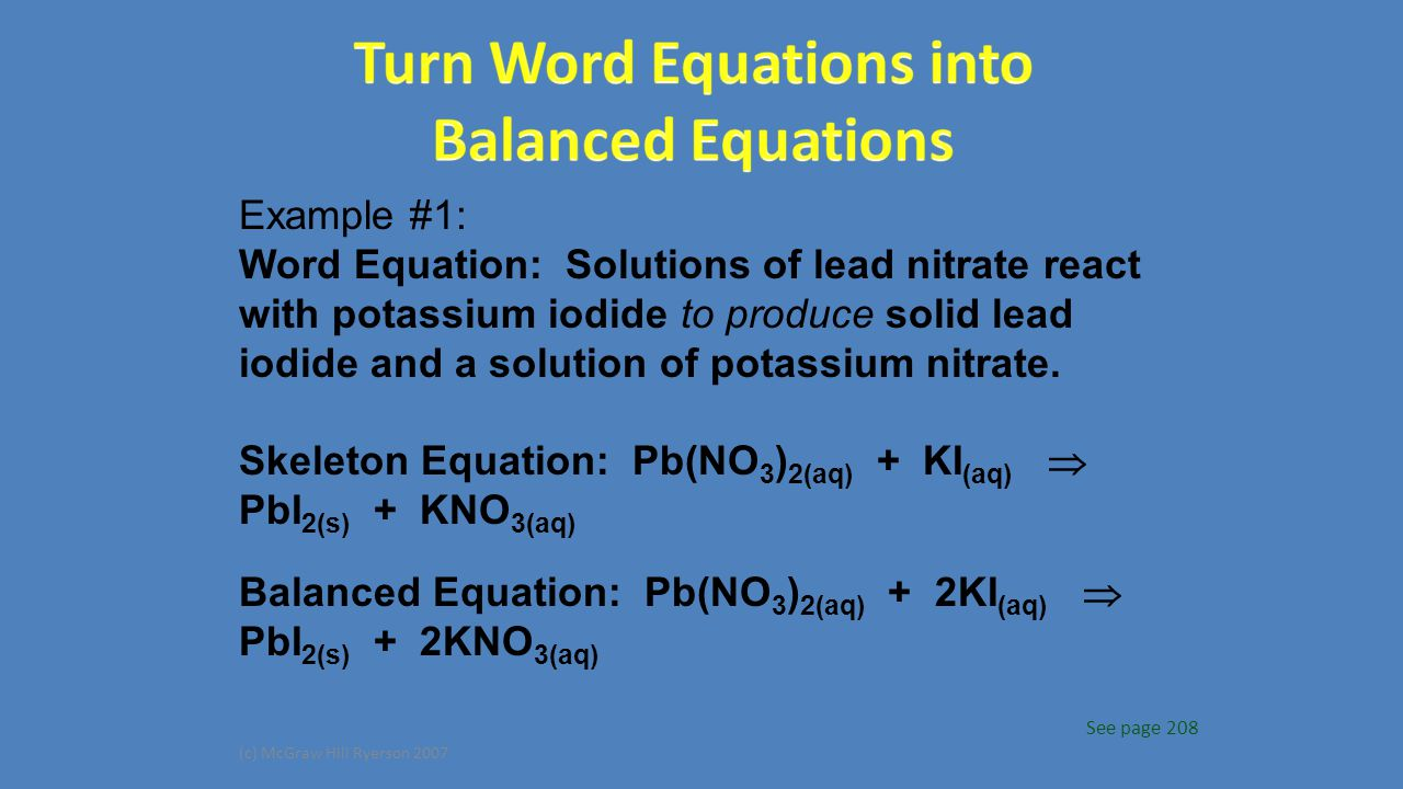 Unit 6 Chemical Reactions Ppt Download
