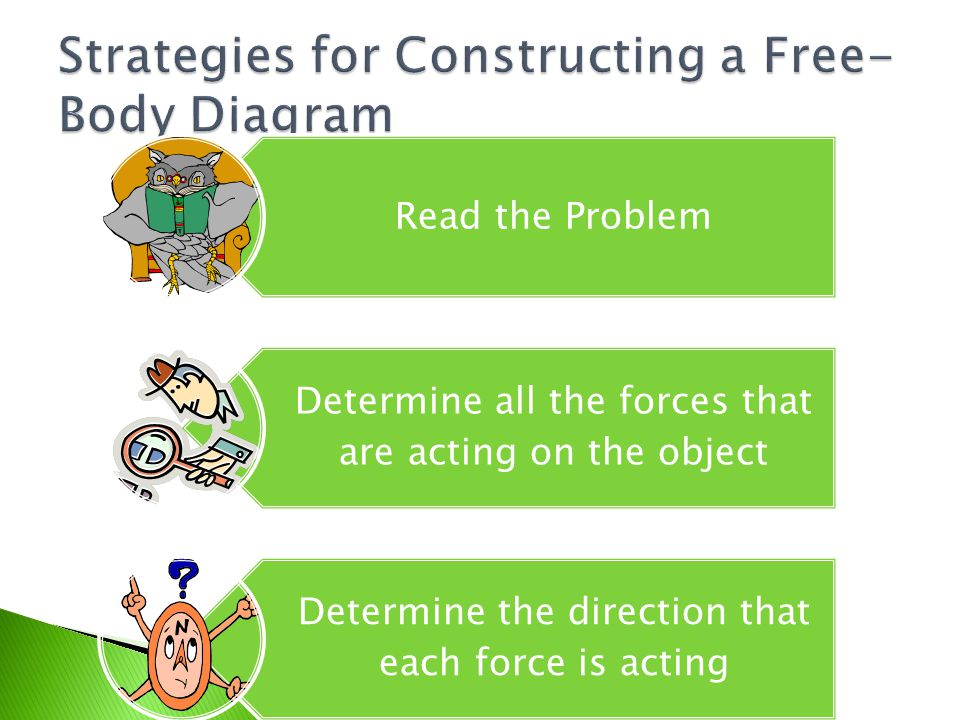 Strategies+for+Constructing+a+Free Body+Diagram free body diagrams understanding forces ppt video online download