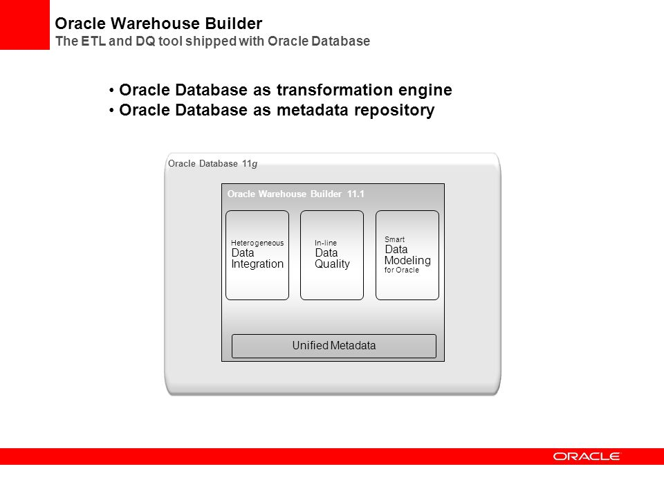 Oracle Warehouse Builder 11gr2 Getting Started 2011 Pdf