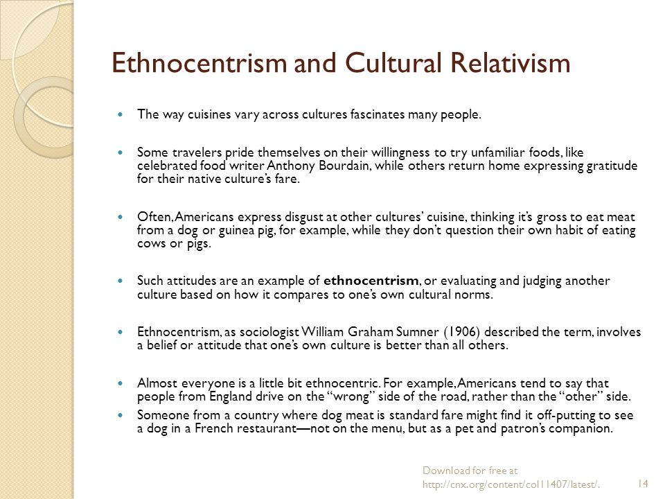Example Of Ethnocentrism Choice Image Example Cover Letter For Resume
