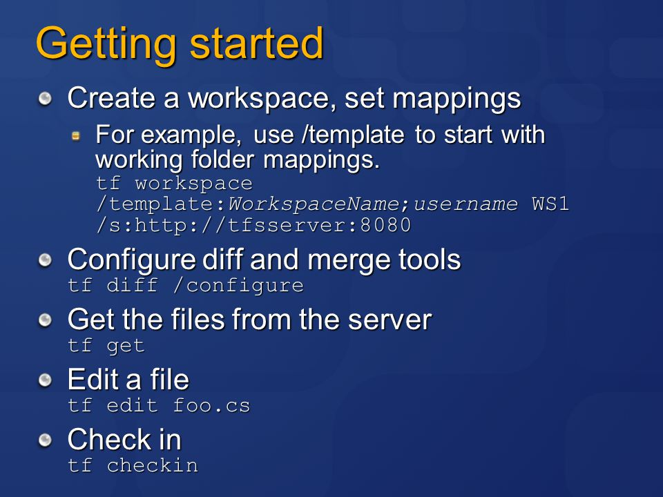 Microsoft Developer's Guide to Team Foundation Version