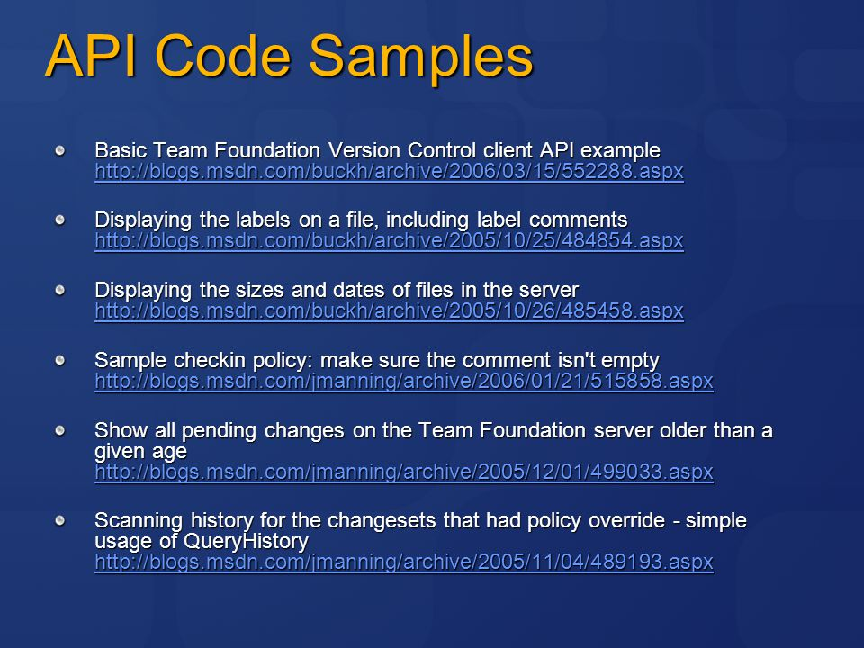 Microsoft Developer's Guide to Team Foundation Version Control - ppt