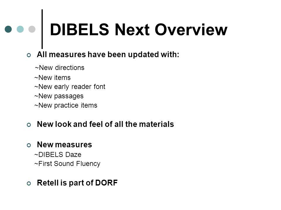 FSF PSF DIBELS Next LNF NWF DAZE DORF Ppt Download