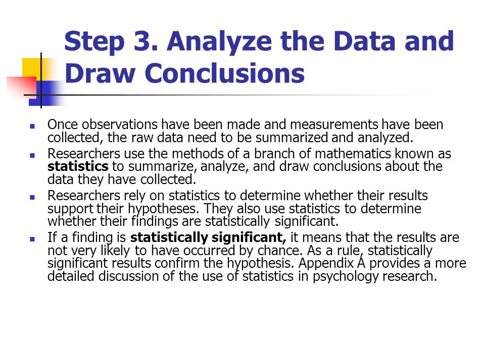 Experimental Method And Statistical Reasoning In Psychology Ppt
