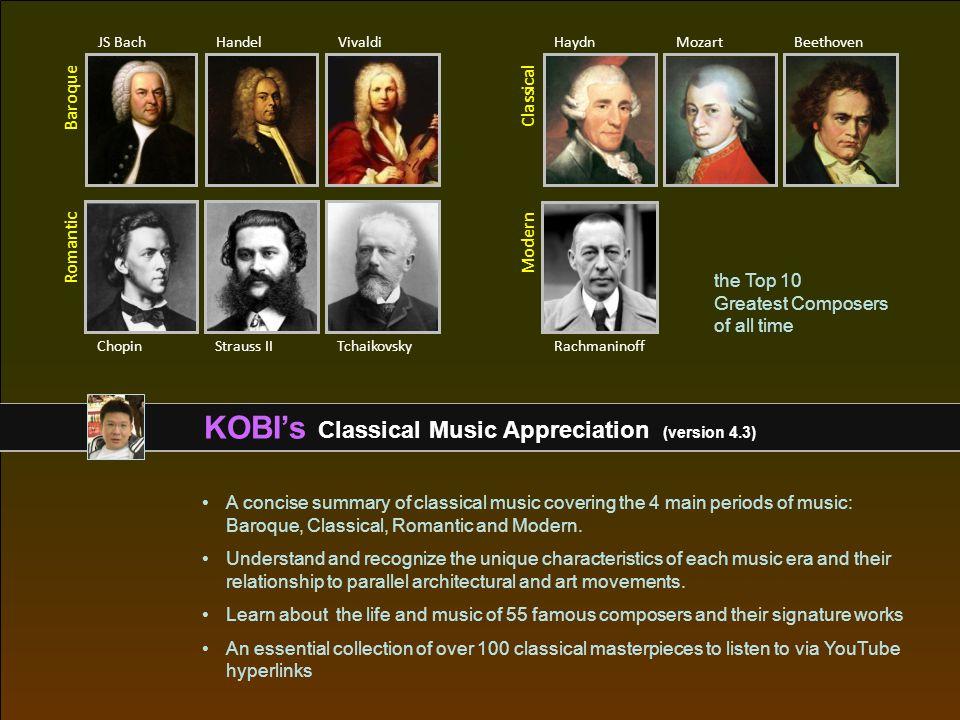 KOBI's Classical Music Appreciation (version 4 3) - ppt download