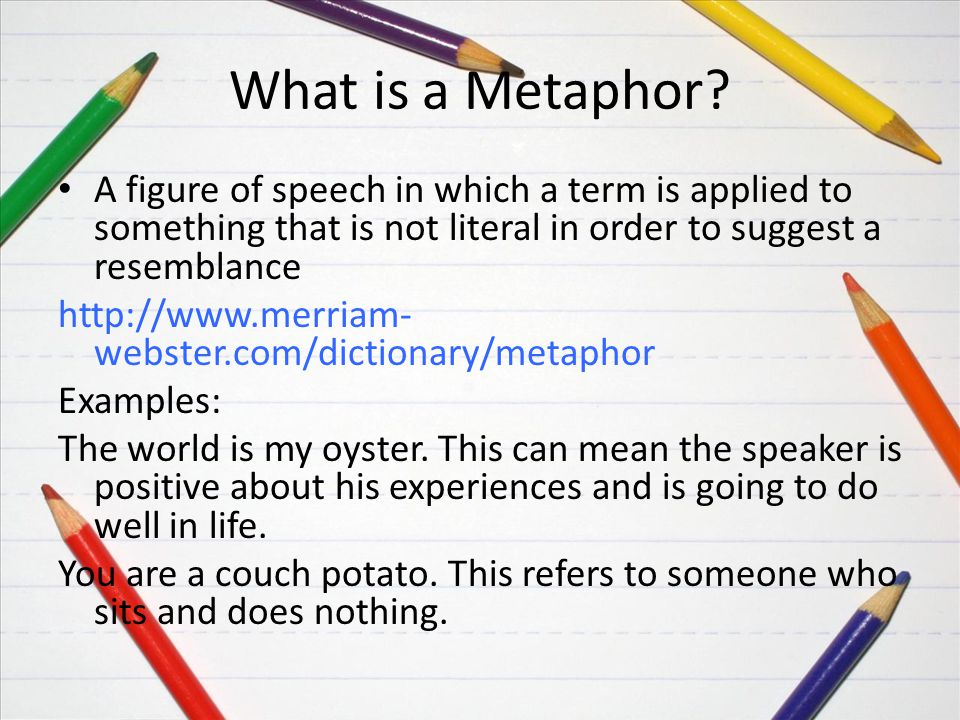 Similes And Metaphors Grade 3 Bryn Siegelman Ppt Download