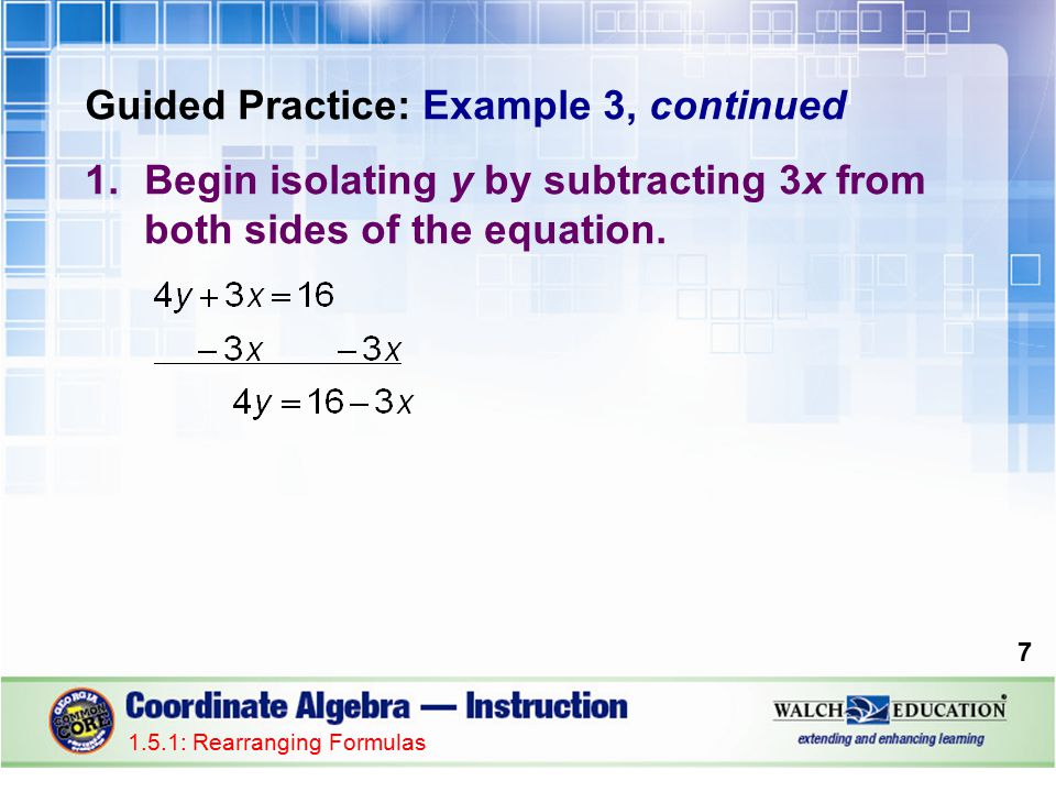 Introduction Literal Equations Are Equations That Involve Two Or