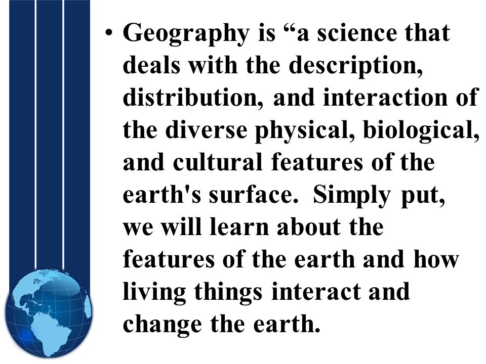 Geography Themes And Essential Elements 2 Geography