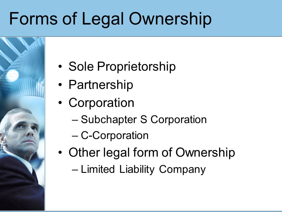 A Complete Discussion Of Legal Forms Of Ownership Ppt Video - Corporation legal form