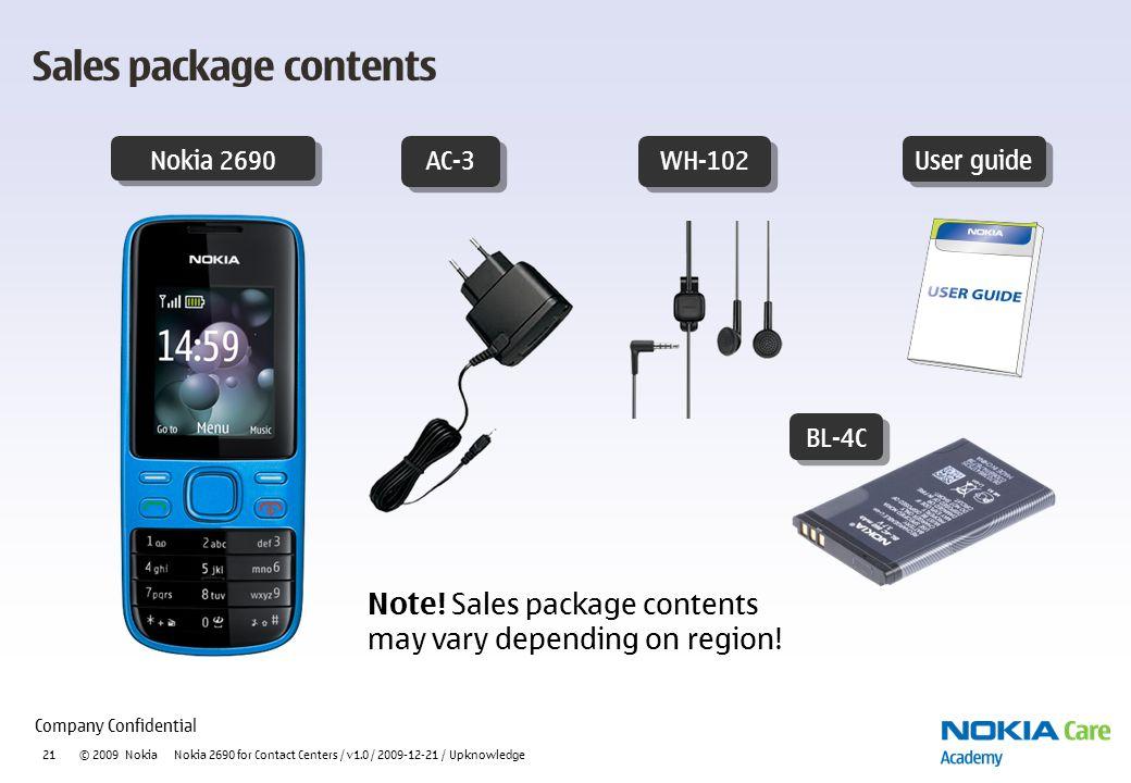 nokia 2690 usability presentation ppt video online download rh slideplayer com User Webcast User Training