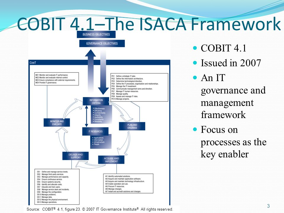 Cobit 5 Framework Bmis Implementation And Future Information