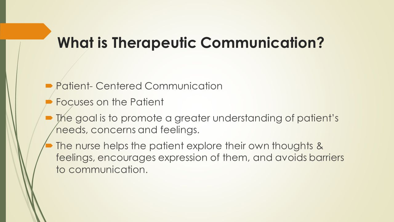 define professional communication in nursing