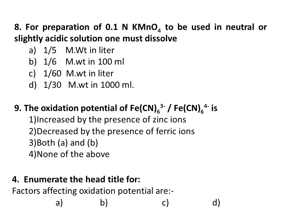 Oxidation-Reduction Reactions - ppt download