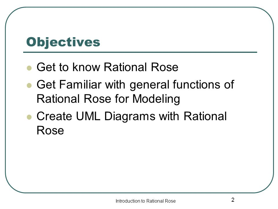 Rational rose tutorial ppt video online download objectives get to know rational rose ccuart Images