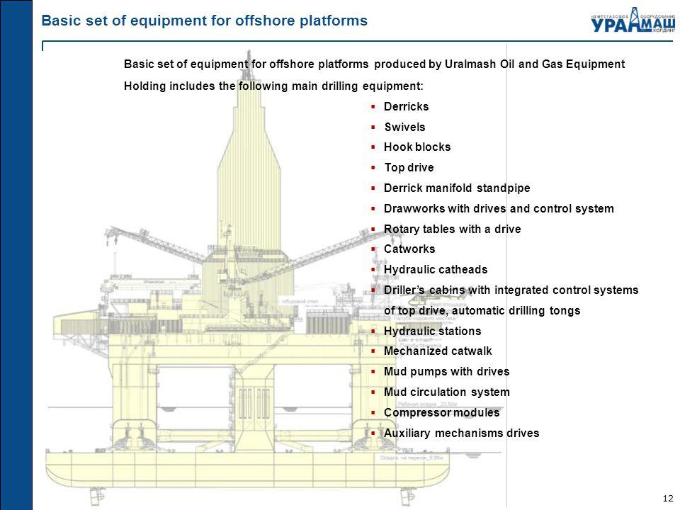 "Uralmash Oil and Gas Equipment Holding"" LLC - ppt video online download"