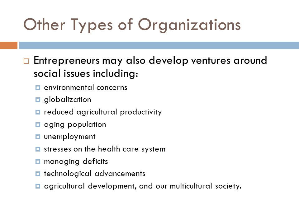 Characteristics of Entrepreneurial Ventures - ppt video online download