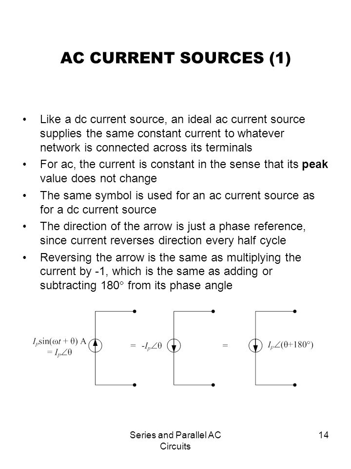 Series and Parallel AC Circuits - ppt video online download
