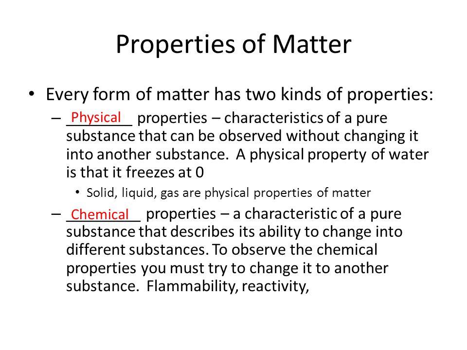 3 Properties: Properties Of Matter Worksheet 8th Grade At Alzheimers-prions.com