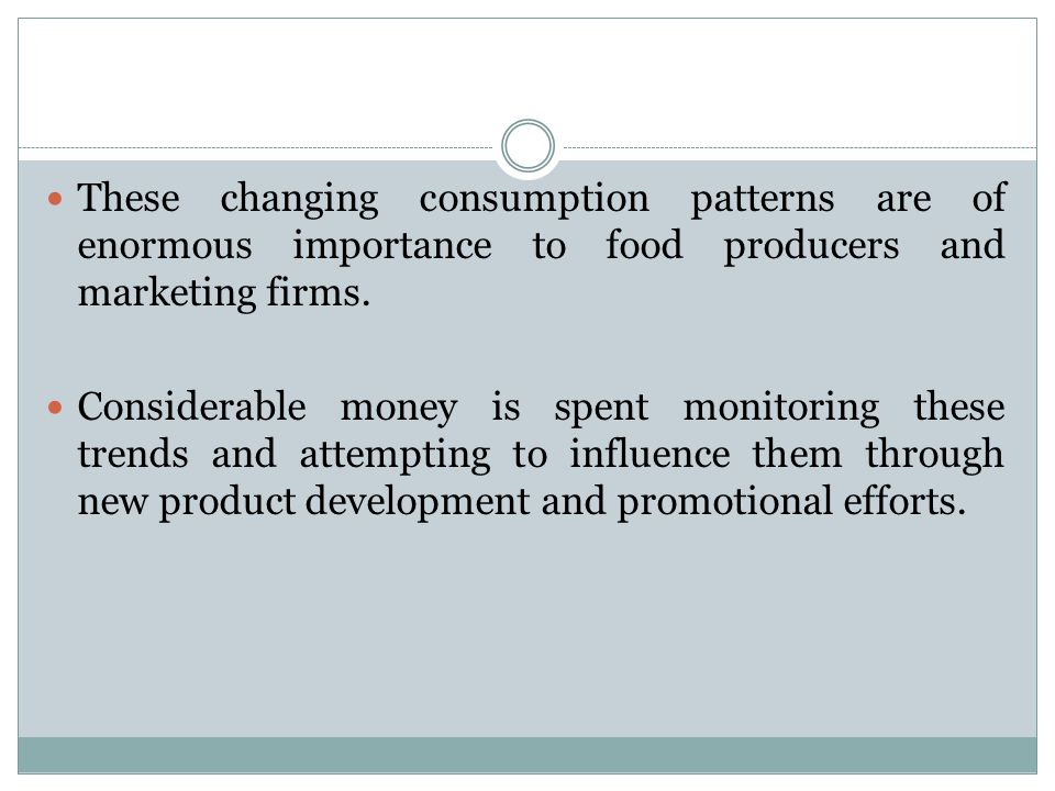 FOOD CONSUMPTION AND EXPENDITURE PATTERNS Ppt Download Amazing Consumption Patterns