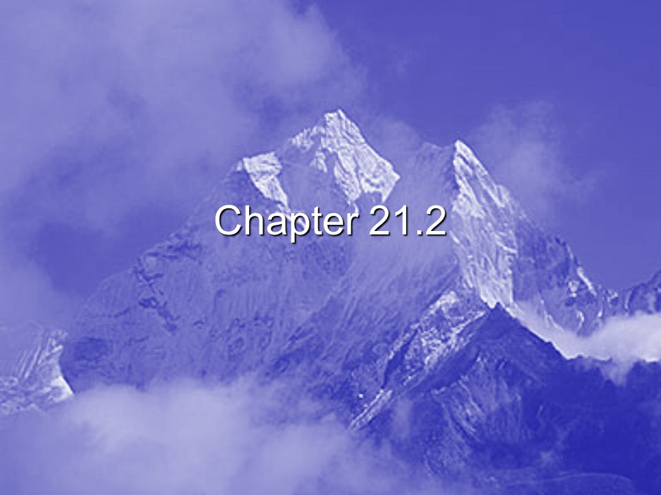 Chapter 21.2