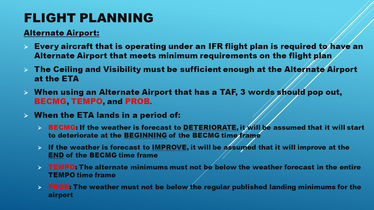 IFR REVIEW By AvPass  - ppt download