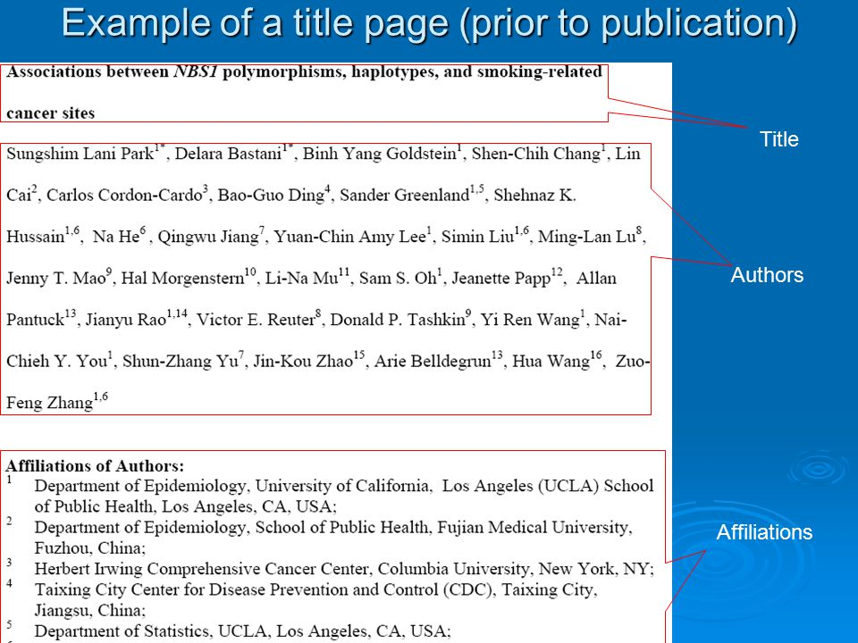 the abstract of research paper keywords