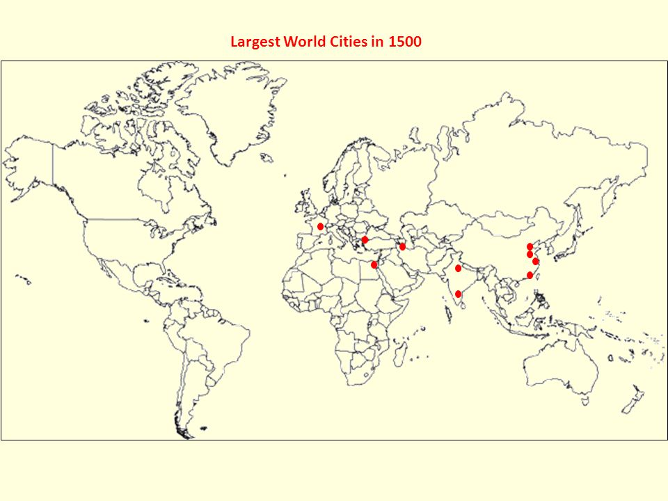 World\'s Largest Cities - ppt video online download