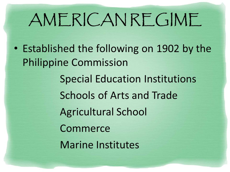 historical perspective of the philippine educational system ppt