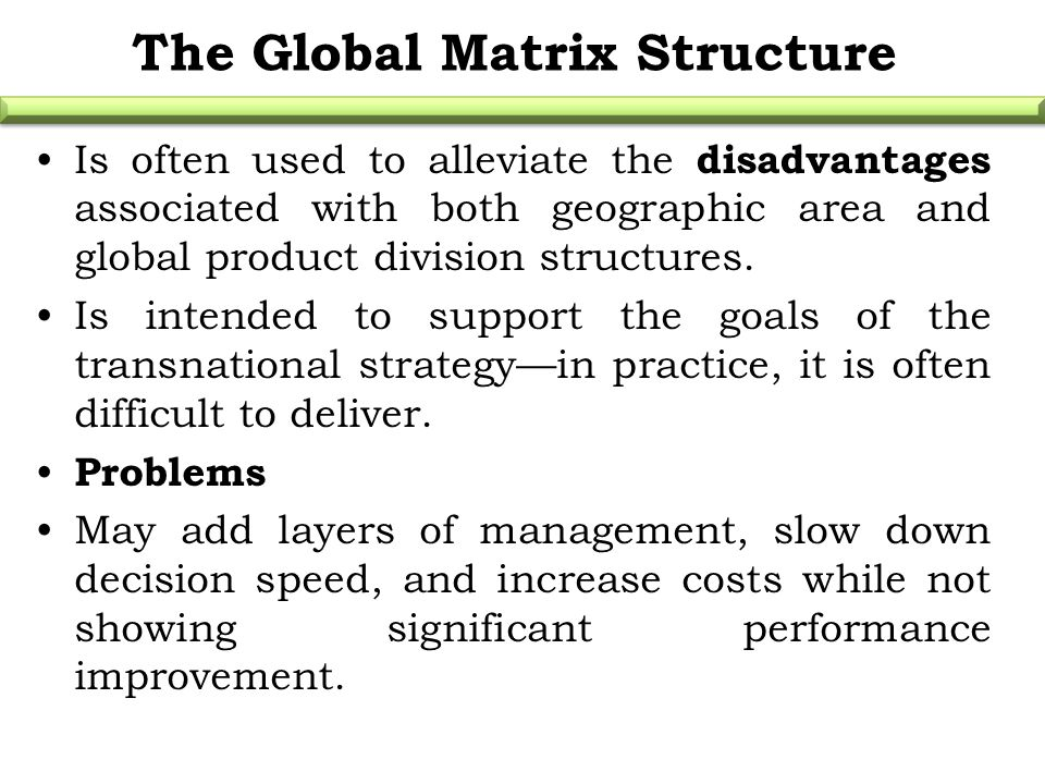 transnational strategy problems