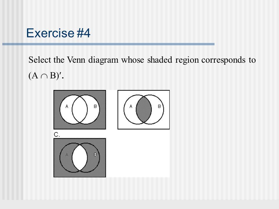 Part 1 Module 2 Set Operations Venn Diagrams Ppt Download