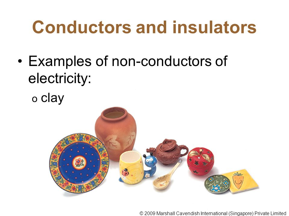 Conductors Of Electricity Ppt Video Online Download