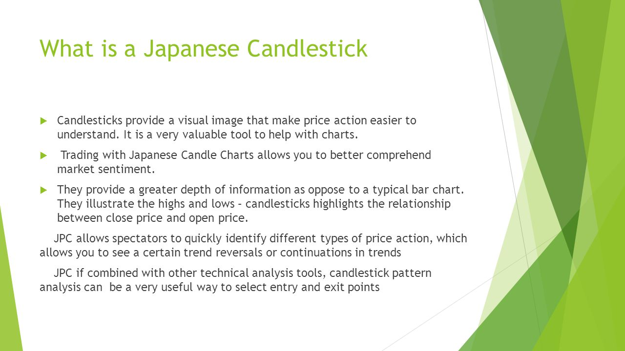 Japanese Candle Stick by Troy Conley - ppt video online download