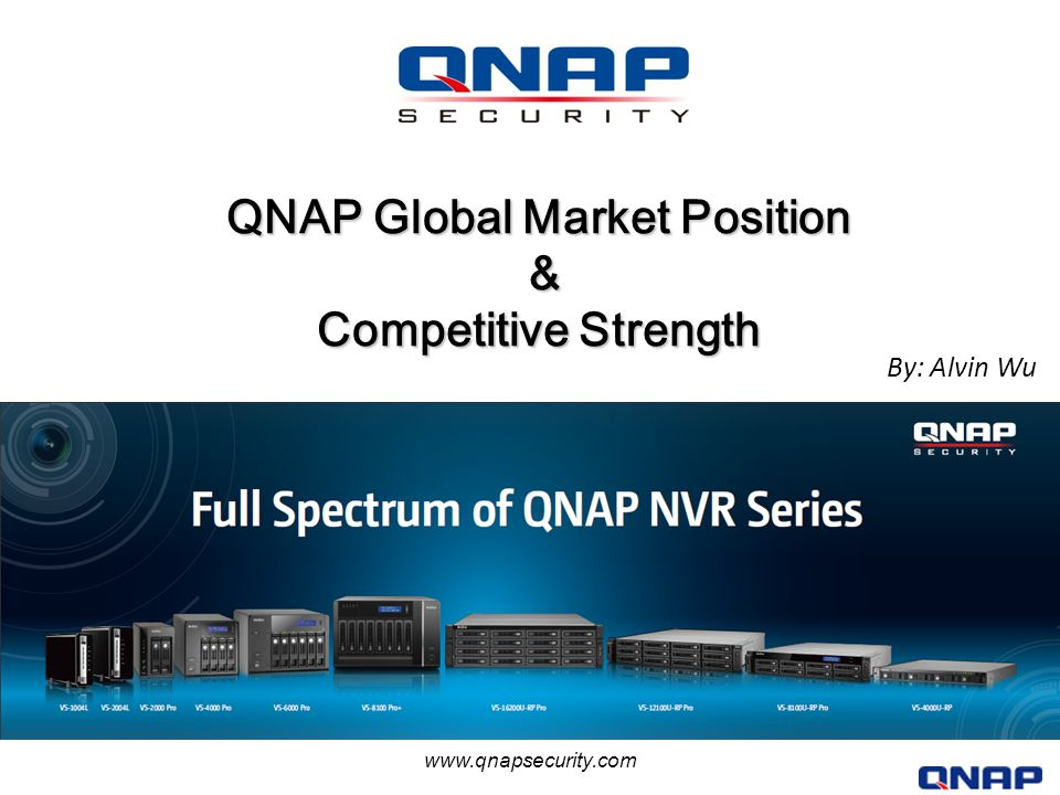QNAP Global Market Position & Competitive Strength - ppt