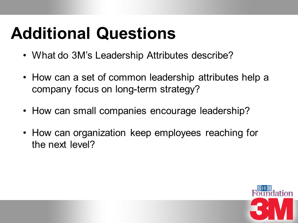 Succession Planning at 3M - ppt video online download