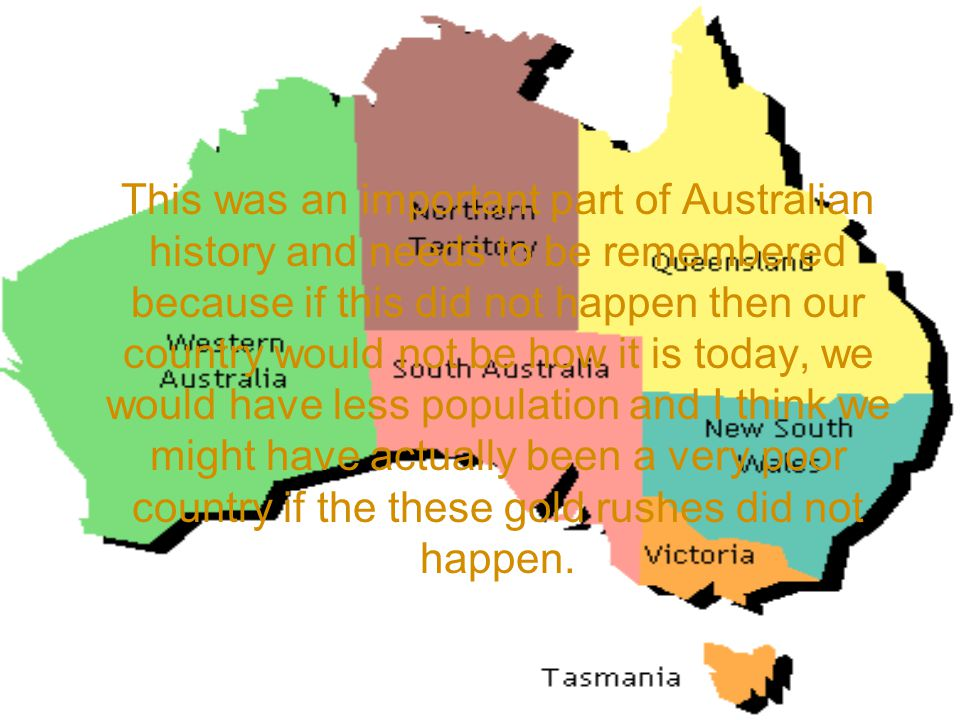 Map Of Australia Gold Rush.The Gold Rush By Niamh Ppt Video Online Download