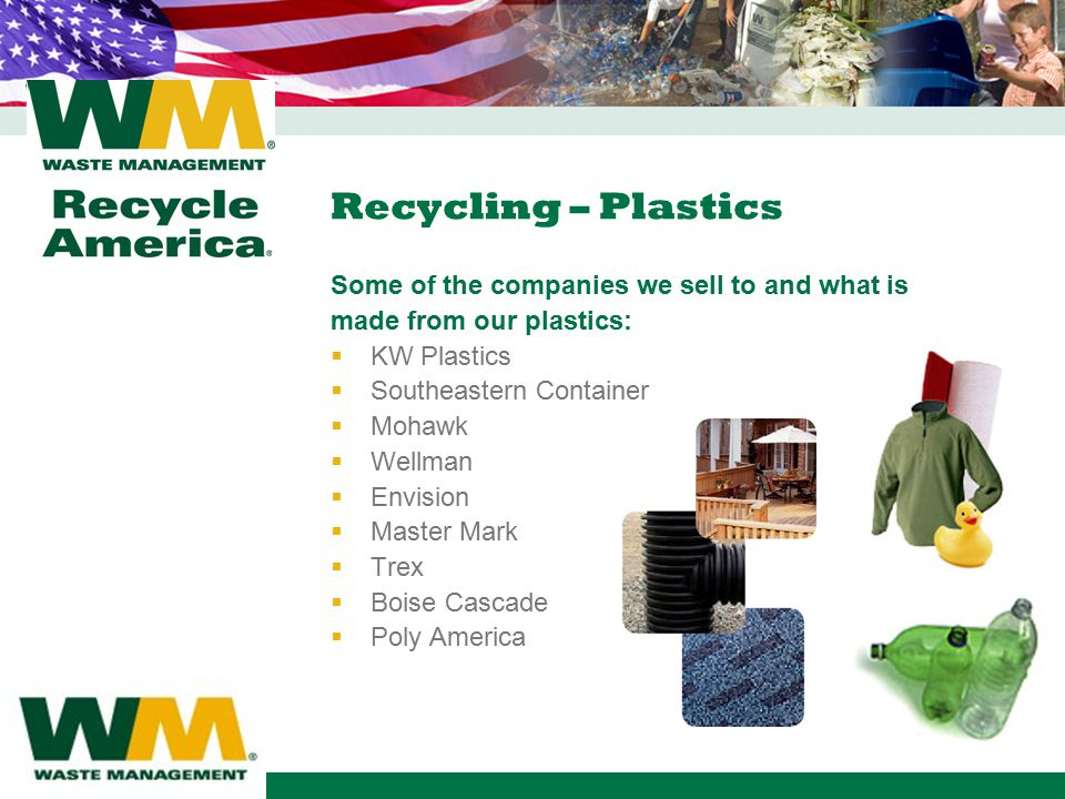 Waste Management Recycle America - ppt video online download