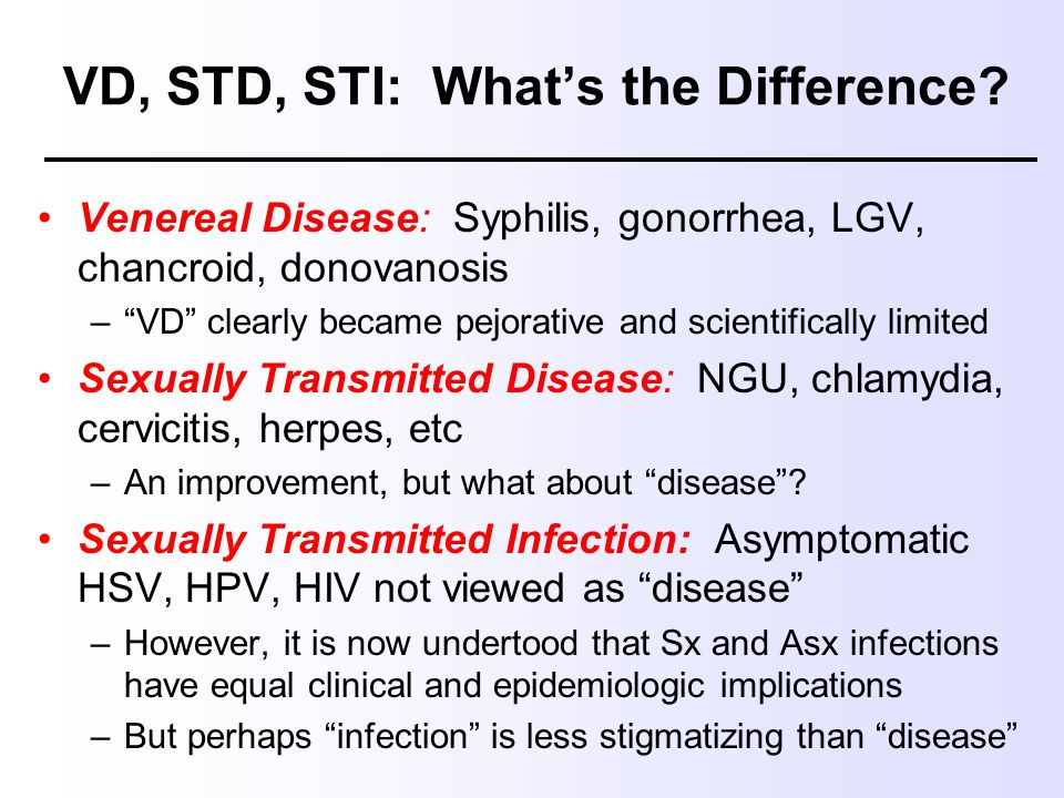 Enterococcus a sexually transmitted disease