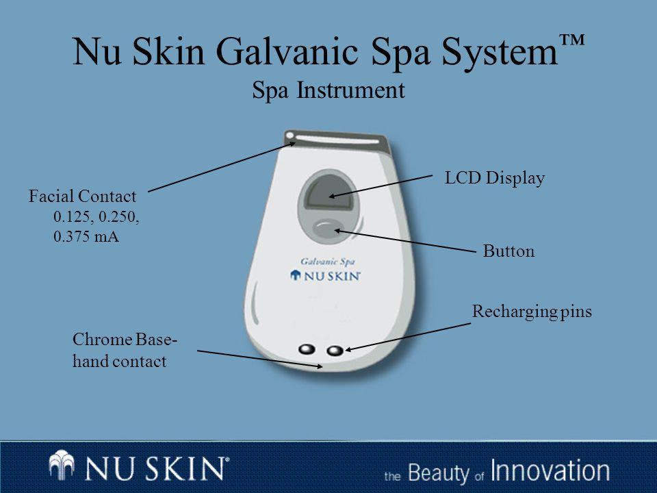 Nu Skin Galvanic Spa System Ppt Download
