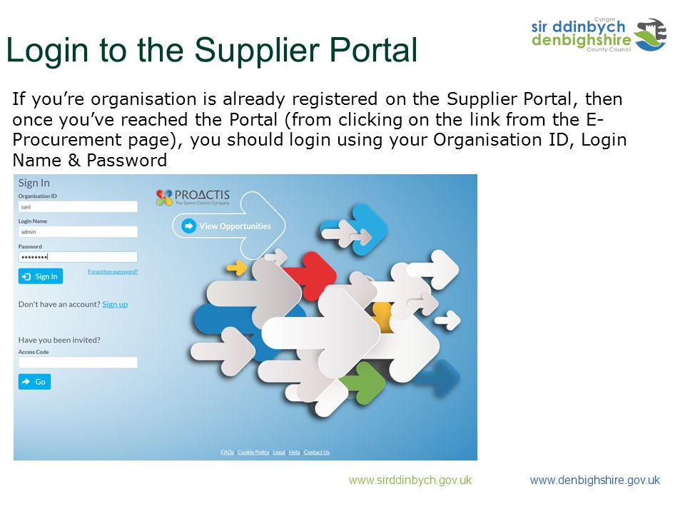 SUPPLIER REGISTRATION FOR ACCESS CODE SUPPLIERS - ppt download