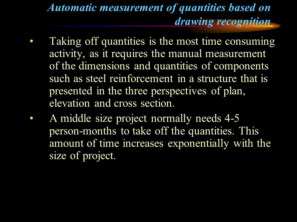 TM 330 Lecture 5b Preparation of Bills of Quantities - ppt video