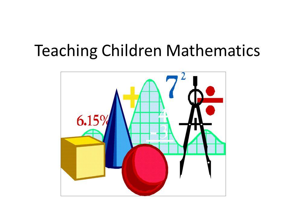 Teaching Children Mathematics - ppt download